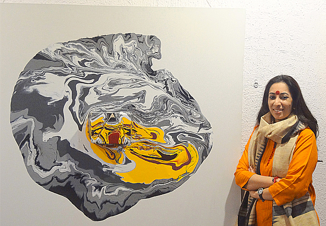 THE AWAKENING : A solo show of Sravanthi Juluri by Ashis Pahi