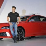 audi rs7 with salman