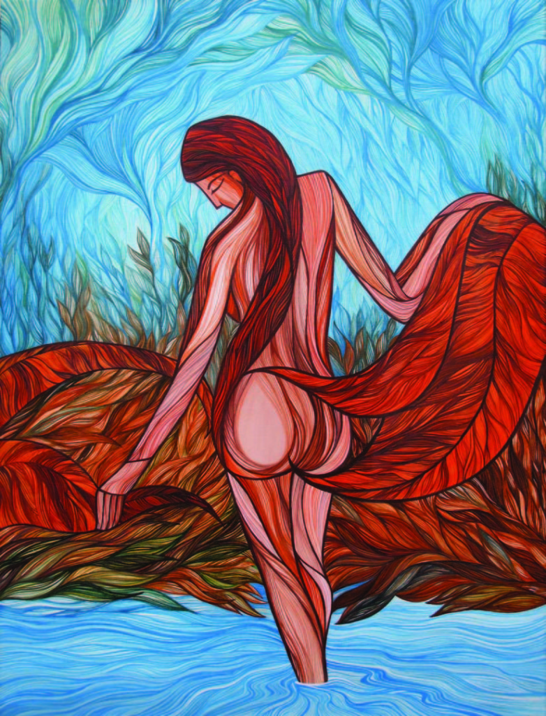 Mother Nature_4-40_x30_-Acrylic on canvas-2012